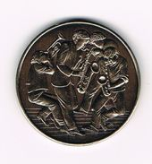 ) PENNING  1992 BESTE WENSEN DIREKTIE & PERSONEEL MAUQUOY - TRAMAUX 2280 GROBBENDONK - Souvenirmunten (elongated Coins)