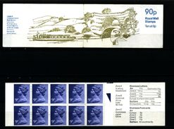 GREAT BRITAIN - 1979  90 P.  BOOKLET  LEEDS & LIVERPOOL  RM  MINT NH  SG FG 8b - Booklets