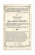 564. MARIE FRANCISCA SPERELAECKEN  - POPERINGHE 1754 / 1856  (101 Jaar!) - Images Religieuses