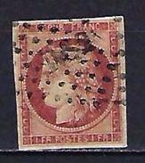 """FR YT 6 """" Type Cérès 1F. Carmin """" 1849 Bureaux De Paris DS2 - 1849-1850 Cérès"""