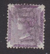Sierra Leone, Scott #5, Used, Queen Victoria, Issued 1872 - Sierra Leone (...-1960)