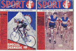 Sport Mondial 53 & 54 Juillet Et Aout 1960 Tour - Sport