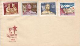 64914- BUDAPEST SOVIET PHILATELIC EXHIBITION, SPECIAL COVER, 1959, HUNGARY - Cartas