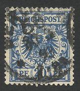 Germany, 20 Pf. 1889, Sc # 49, Mi # 48, Used, Berlin - Germany