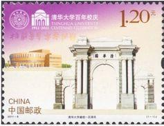 China 2011-8 Centenary Of Birth Of Tsinghua University - 1949 - ... People's Republic