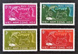 REFORME AGRAIRE 1959 - NEUF ** - YT 112/15 - MI 184/87 - Vietnam