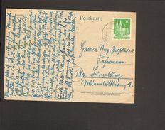 Bizone Bauten 10 Pfg.weit Gez.auf Postkarte Aus Bremke ü.Göttingen Poststelle I Von 1948 - Bizone