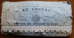 GALON BEIGE-10 METRES-AU LOUVRE PARIS-COMPTOIR OUVRAGES DE DAMES-PASSEMENTRIES - Laces & Cloth