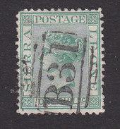 Sierra Leone, Scott #10, Used, Queen Victoria, Issued 1872 - Sierra Leone (...-1960)