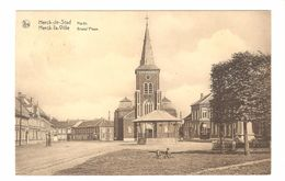 Herck-de-Stad - Markt / Grand'Place - Uitgave Brems, Imprimeur, Herk-de-Stad - 1930 - Herk-de-Stad