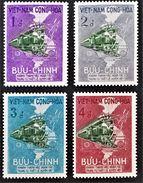 CHEMIN DE FER SAÏGON-DONGHA1959 - NEUFS ** - YT 116/19 - MI 188/91 - Vietnam