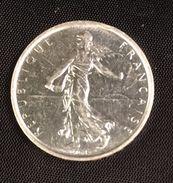 5 Francs Semeuse Argent 1967 - J. 5 Francs
