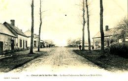 AH 328/ C P A - CIRCUIT  DE LA SARTHE 1906 (72) LA GRAND'HALTE ENTRE BOULOIRE ET ST CALAIS - France