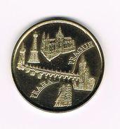 ) TOURIST TOKEN  CZECH REPUBLIC - PRAHA  PRAGUE - PETRINSKA ROZHLEDNA 1891 - Pièces écrasées (Elongated Coins)