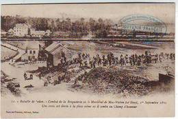 08. SEDAN . BATAILLE DE SEDAN . COMBAT DE LA BRIQUETERIE  . MAC MAHON . GUERRE DE 1870 . Editeur Suzaine Pierson - Sedan