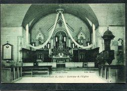 CPA - TOUVOIS - Intérieur De L'Eglise - Other Municipalities
