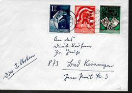 AUTRICHE  Lettre 1955 Plébiscite Carinthien Vote Armoiries - 1945-60 Storia Postale