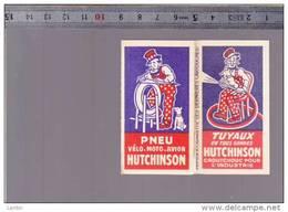 Illustrateur Mich - Pneu Hutchinson Chaussures A L'aigle - Lot De 2 Papier à Cigarettes Les Dernieres Cartouches - Advertising
