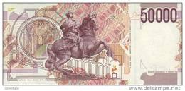 ITALY P. 116c 50000 1999 UNC - [ 2] 1946-… : Républic