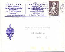 Omslag Enveloppe - UNAO - NUOB - Auderghem - Oudergem - Entiers Postaux