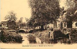 - Depts Div.-ref-TT114- Yvelines - Courgent - Moulin A Eau De La Planche - Moulins A Eau - Carte Bon Etat - - France