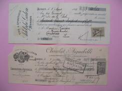 Lot De Document Chocolat, Vin    à Voir - Cambiali
