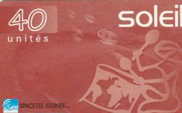 Guinea - Soleil - Red 40 Un - Guinea