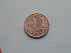 1948 - Half Crown - KM 866 ( Details Zie Foto´s ) ! - 1902-1971 : Monete Post-Vittoriane