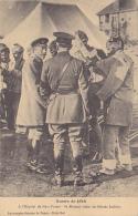 Guerre 1914 - A L'Hôpital De New-Forest - Sa Majesté Visite Les Blessés Indiens - Circ 1915 - Characters
