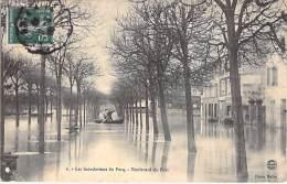 78 - LE PECQ : Les Inondations - Boulevard Du Port - CPA - Yvelines - Le Pecq