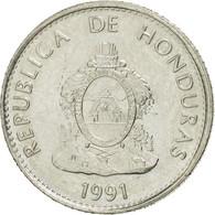 Honduras, 20 Centavos, 1991, SUP, Nickel Plated Steel, KM:83a.1 - Honduras
