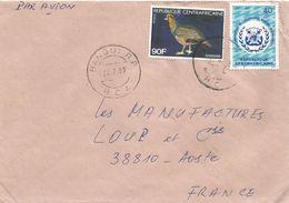 Centrafrique RCA CAR 1982 Bangui Bird Dodoro Maritime International Organisation Cover - Centraal-Afrikaanse Republiek