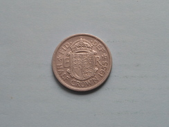 1955 - Half Crown - KM 907 ( Details Zie Foto´s ) ! - 1902-1971 : Monete Post-Vittoriane