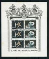 MONACO ( EUROPA 1993 ) : Y&T N°  61  BLOC  NEUF  SANS  TRACE  DE  CHARNIERE , PETITE  ROUSSEUR , A  SAISIR . - Europa-CEPT