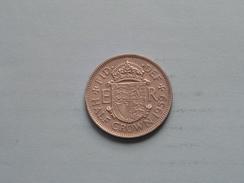 1959 - Half Crown - KM 907 ( Details Zie Foto´s ) ! - 1902-1971 : Monete Post-Vittoriane