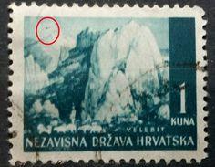 LANDSCAPES-VELEBIT-ERROR-AIRPLANE-RARE-NDH CROATIA1941 - Croatie