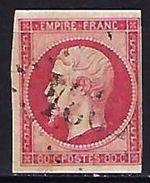 "FR YT 17B "" Napoléon III 80c. Rose "" GC ?034 - 1853-1860 Napoleon III"