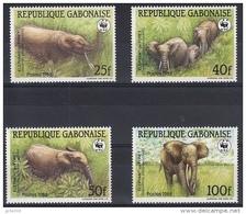 GABON, WWF, Yvert 640/43** Neuf Sans Charniere. MNH - W.W.F.
