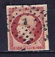 "FR YT 17A "" Napoléon III 80c. Carmin "" Bureaux De Paris J - 1853-1860 Napoleon III"