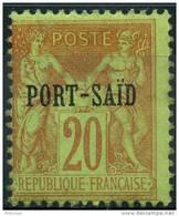 Port-Said (1899) N 10 * (charniere) - Neufs