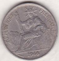 Indochine Française. 50 Cent 1946  . Bronze Nickel - Colonies