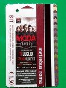 MODA' WEEK BIGLIETTO BIT TICKET STADIO OLIMPICO ROMA - Metro