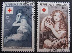 LOT 3804/98 - 1954 - CROIX ROUGE - N° 1006 à 1007 - Cote : 26,50 € - France