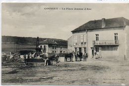 88   COUSSEY  La  Place Jeanne D'Arc - Coussey