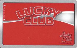 Lucky Club Casino - N. Las Vegas, NV - BLANK Slot Card - Casino Cards