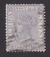 Sierra Leone, Scott #13, Used, Queen Victoria, Issued 1876 - Sierra Leone (...-1960)