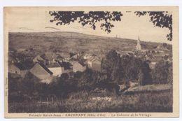 ARCENANT, Près Nuits-St-Georges, La Colonie Et Le Village -1935 - Bon état- - Andere Gemeenten