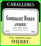 CABALLERO- GONZALEZ BYASS  JEREZ - Etiquetas