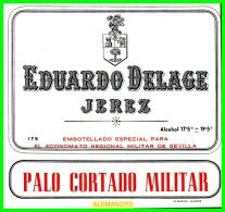 EDUARDO DELAGE   JEREZ  DE LA FRONTERA - Etiquetas
