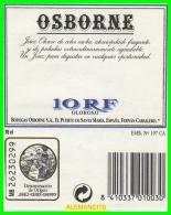 BODEGAS  OSBORNE - Etiquetas